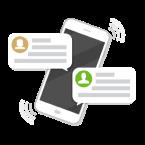 SMS és email értesítések